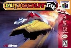 Wipeout 64 (USA) Box Scan